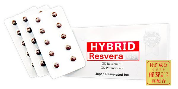 ハイブリッドレスベラ(HYBRID Resvera)GS